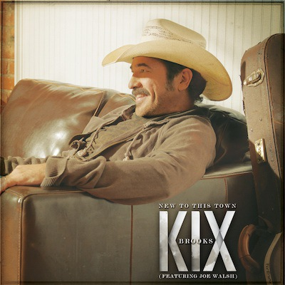"KIX BROOKS TO RELEASE NEW SINGLE ""NEW TO THIS TOWN"" (FEATURING JOE WALSH)"